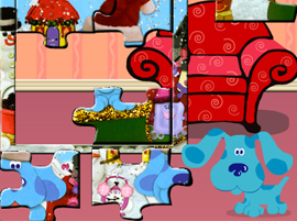 Blues Clues Puzzle Game