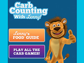 Carb Counting With Lenny - Android app, website & online games.